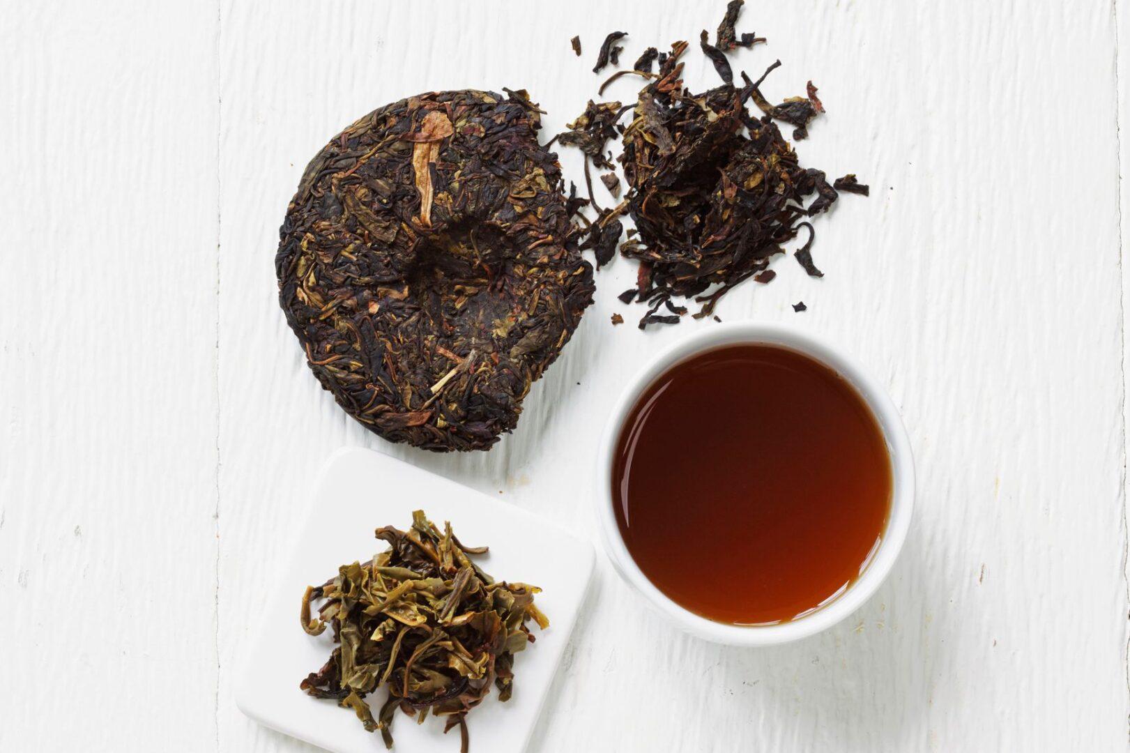 Buy Pu'erh Tea - The Larkin Tea Company