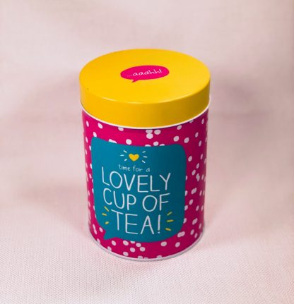 Pink Tea Canister