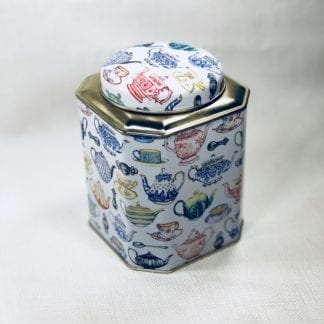 Tin Tea Canister