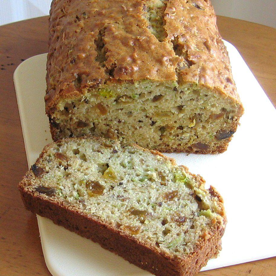green tomato tea bread