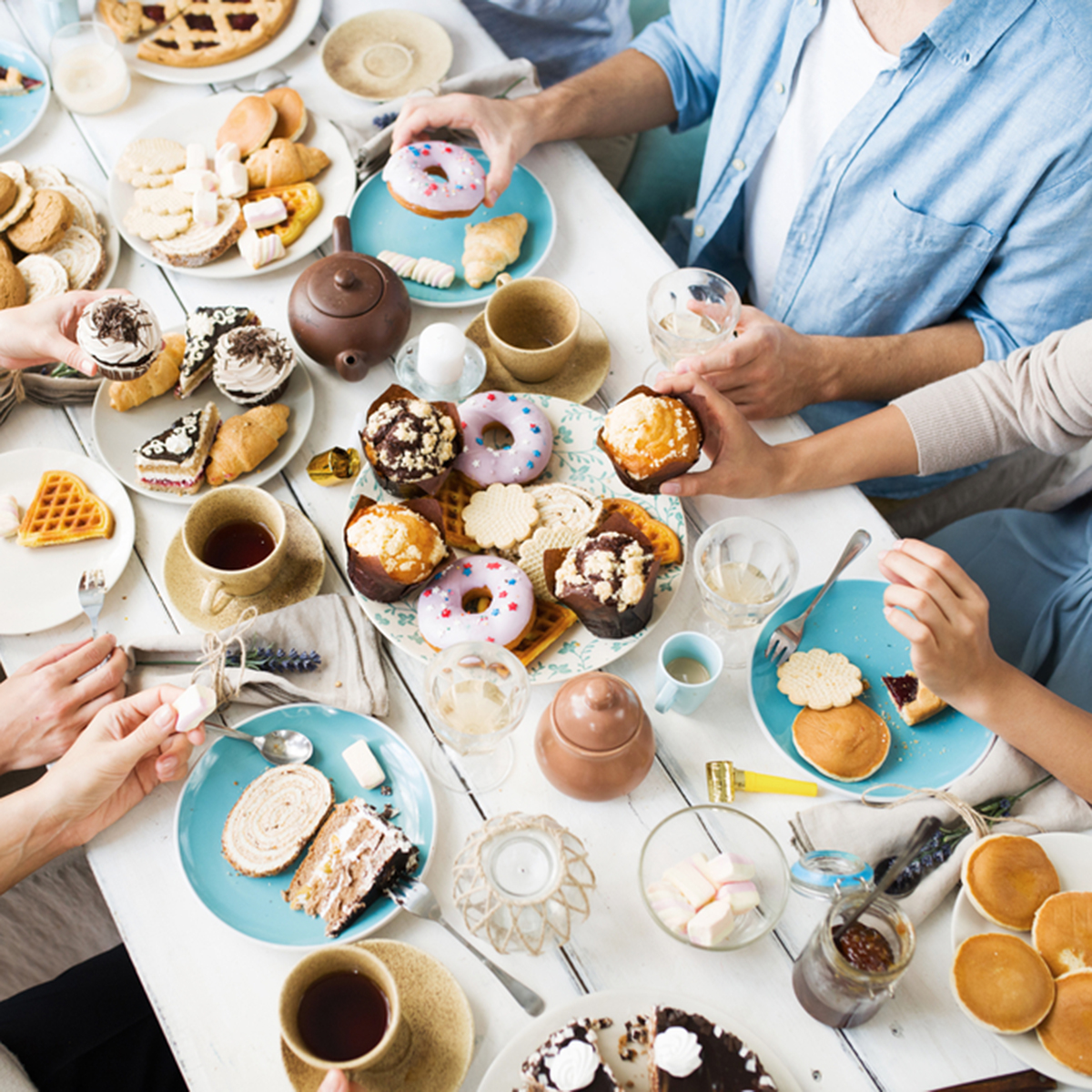 Combat Loneliness With Tea With Friends