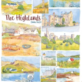 tea towels The Highlands
