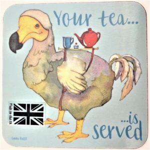 Your Tea is Served tea coaster