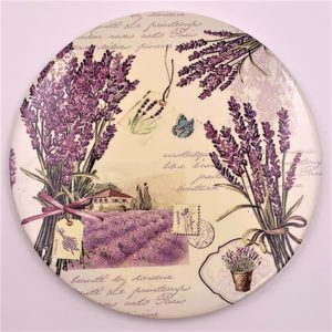 LArkin Tea Lavender trivet