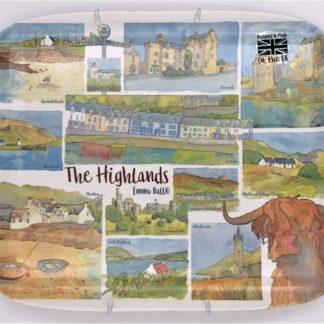 larkin tea highland tray