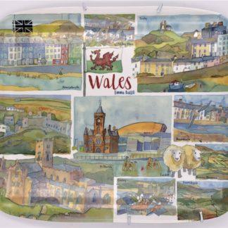 Larkin Tea Wales tray