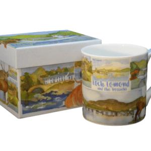 Loch Lomond tea mug