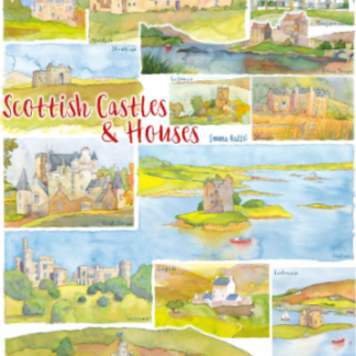 tea towels Scottish Castles and Houses