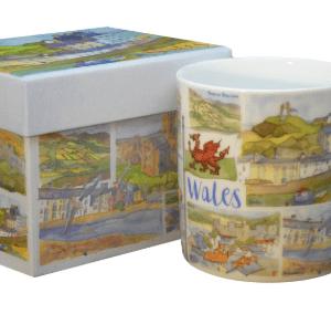 Wales tea mug