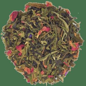 pomegranate rose tea blend