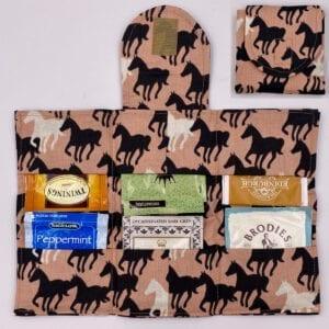 Horses tea wallet